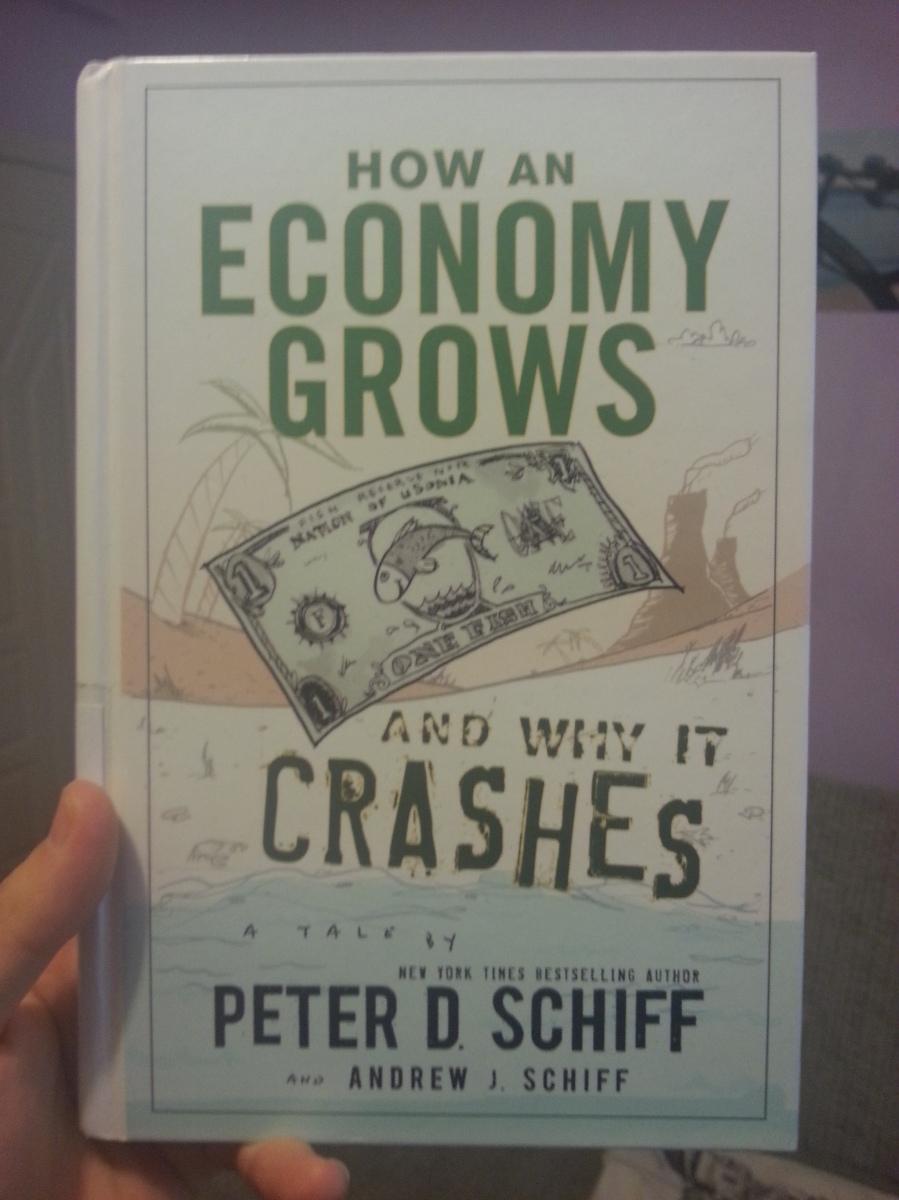 Kitap : Bir Ekonomi Nasıl Büyür ve Neden İflas Eder (Why Economy Grows And Why It Crashes) -   Peter D. Schiff, Andrew J. Schiff