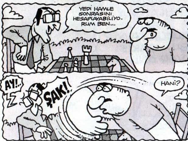 satranc karikatur