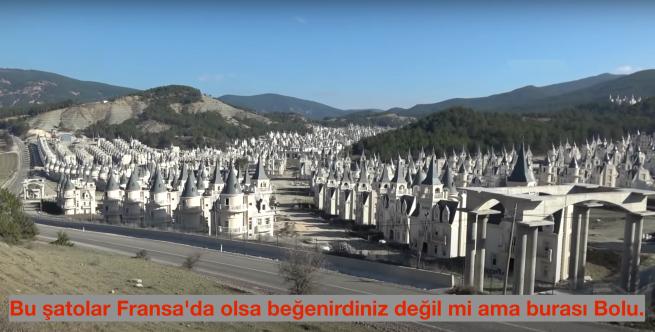 Türkiye'nin şatoları